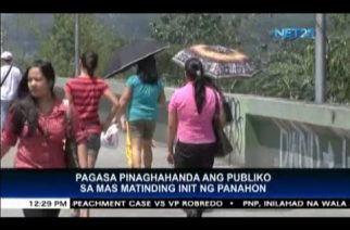 PAGASA advises public to prepare for extreme heat