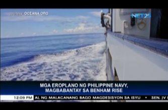 Philippine Navy deploys 2 aircraft to patrol Benham Rise