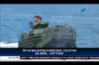 PHL-US Balikatan exercises to push through in April