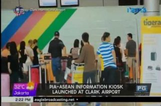 PIA-ASEAN Information Kiosk launched at Clark Airport