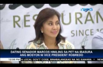 Robredo should agree with recount if she has nothing to hide, Marcos tells Supreme Court