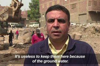 Watch:  Parts of buried huge Ramses II statue discovered near Cairo