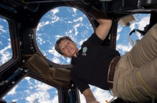 "This undated NASA handout photo released on April 24, 2017 shows NASA astronaut Peggy Whitson aboard the International Speace Station. NASA astronaut Peggy Whitson flew through the standing record for cumulative time spent in space by a US astronaut at 1:27 a.m. EDT on April 24, 2017, and with the recent extension of her stay at the International Space Station, she has five months to rack up a new one. / AFP PHOTO / NASA / Handout / RESTRICTED TO EDITORIAL USE - MANDATORY CREDIT ""AFP PHOTO / NASA "" - NO MARKETING NO ADVERTISING CAMPAIGNS - DISTRIBUTED AS A SERVICE TO CLIENTS"