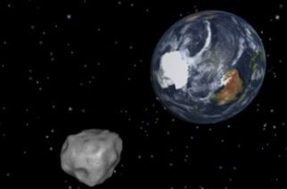 "This NASA graphic obtained February 8, 2013 depicts the Earth flyby of asteroid 2012DA14.  NASA is closely tracking an asteroid large enough to destroy a city that is set to whiz past Earth on February 15, 2013 in what the US space agency says is the closest flyby ever predicted for such a large object. The 150-feet (45-meter) wide asteroid -- dubbed 2012 DA 14 -- is expected to pass about 17,200 miles (27,000 kilometers) above the Earth at the time of closest approach, about 2:25 pm EST (1925 GMT), NASA said.  = RESTRICTED TO EDITORIAL USE - MANDATORY CREDIT "" AFP PHOTO / NASA/JPL-Caltech/"" - NO MARKETING NO ADVERTISING CAMPAIGNS - DISTRIBUTED AS A SERVICE TO CLIENTS = / AFP PHOTO / NASA / HO"
