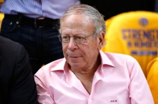 OAKLAND, CA - MAY 21: Houston Rockets owner Leslie Alexander looks on during game two of the Western Conference Finals of the 2015 NBA PLayoffs between the Houston Rockets and the Golden State Warriors at ORACLE Arena on May 21, 2015 in Oakland, California. NOTE TO USER: User expressly acknowledges and agrees that, by downloading and or using this photograph, user is consenting to the terms and conditions of Getty Images License Agreement.   Ezra Shaw/Getty Images/AFP
