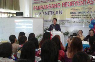 Pambansang Reoryentasyon sa Panitikan isinagawa sa Dapitan City