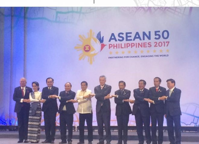Featured video:  Entrance of heads of ASEAN-member states during opening of the 30th ASEAN Summit
