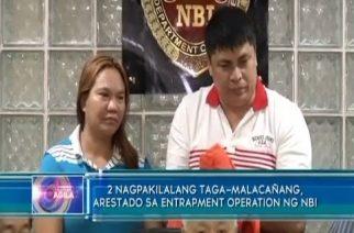 2 nagpakilalang taga-Malacañang, arestado sa entrapment operation ng NBI