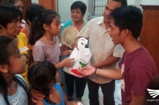 Lingap Pamamahayag matagumpay na naisagawa sa iba't-ibang dako sa silangang bahagi ng Pangasinan