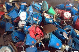 Destruction sa mga timbangan sa palengke ng Orani, Bataan, isinagawa ng DTI