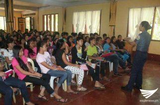 """Summer class na may temang: """"Pulis ko,Titser ko,"""" isinagawa sa Zamboanga del Norte"""