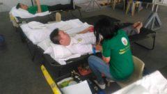 Blood donation activity isinagawa ng Iglesia Ni Cristo sa Tandang Sora, Caloocan