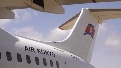 The U.S. is calling for more sanctions against North Korea's Air Koryo, which experts say will have limited impact given the brand's expansion into various consumer products in their home country.(photo grabbed from Reuters video)