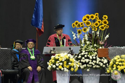 New Era University President Dr. Nilo Rosas.