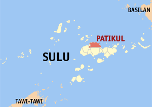 The Abu Sayyaf has beheaded a Tausug solider involved in the peace process in Mindanao.  The incident happened in Patikul, Sulu. (Map courtesy wikimedia commons)
