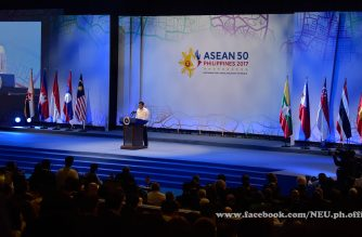 President Duterte calls for a drug-free ASEAN, a peaceful stable rules-based region in summit opening