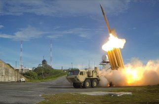The_first_of_two_Terminal_High_Altitude_Area_Defense_(THAAD)_interceptors_is_launched_during_a_successful_intercept_test_-_US_Army Photo courtesy of Wikipedia.