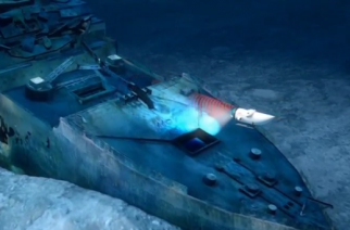 Expeditions to the world's most famous shipwreck are set to begin.(photo grabbed from Reuters video)