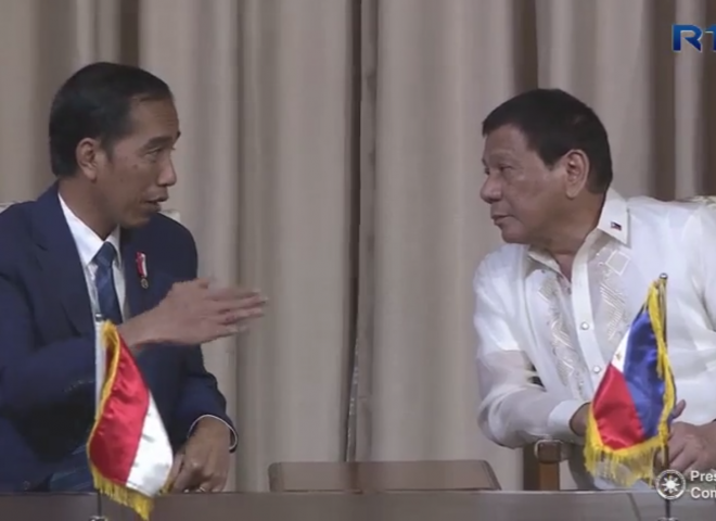 Duterte welcomes Indonesian President Widodo in state visit; several agreements signed