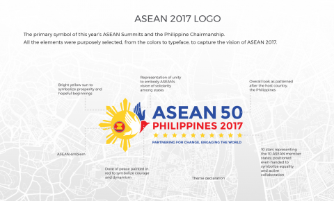 infographics what the asean 2017 logo means