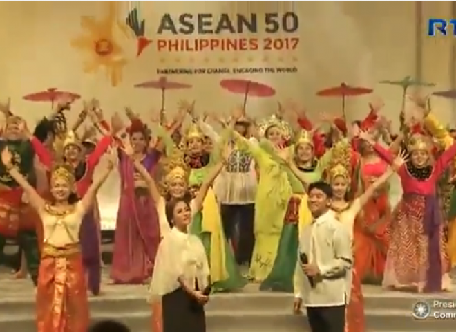 Watch:  PHL's ASEAN chairmanship theme song, ASEAN Spirit, and ASEAN Song of Unity performed in ASEAN Summit opening