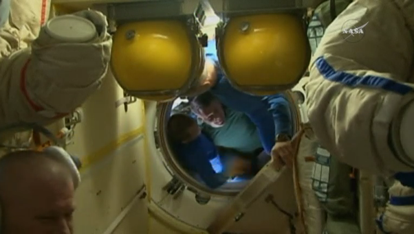 ISS astronauts prepare to return to Earth