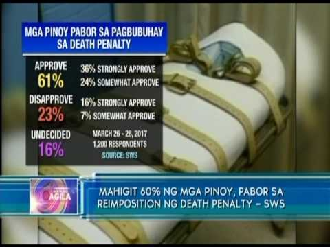 death penalty sa wikang tagalog Leo echegaray (11 july 1960 – 5 february 1999) was the first filipino to be  meted the death penalty after its reinstatement in the philippines in 1993,   sámbayanáng pilipino, patawarin ako sa kasalanang ipinaratang ninyo sa akin  pilipino.