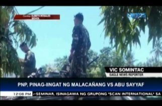 Malacañang orders PNP to be doubly alert vs Abu Sayyaf; to clean ranks