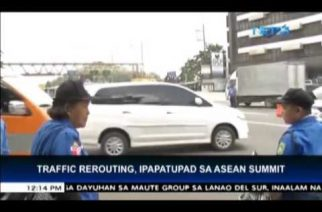 MMDA issues traffic re-routing scheme for ASEAN Summit