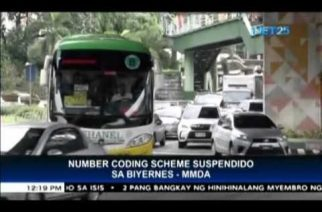 MMDA suspends implementation of number-coding for ASEAN Summit