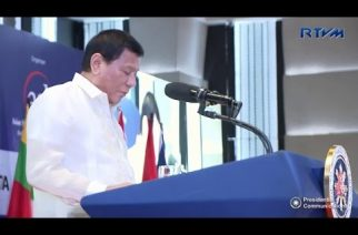 President Duterte addresses 14th ASEAN Leadership Forum