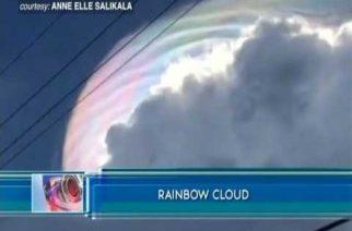 Rainbow cloud nasaksihan sa Pagadian City