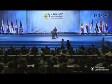 Watch:  ASEAN at 50 years: Full speech of President Duterte in the ASEAN Summit opening in Manila