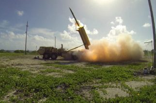 "(FILES) This handout photo taken on November 1, 2015 and received by the US Department of Defense/Missile Defense Agency shows a terminal High Altitude Area Defense (THAAD) interceptor being launched from a THAAD battery located on Wake Island in the Pacific Ocean, during the Flight Test Operational (FTO)-02 Event 2a. A controversial missile defense system whose deployment has angered China is now operational in South Korea, a US defense official said May 1, 2017. Washington and Seoul agreed to the Terminal High Altitude Area Defense (THAAD) battery deployment in July in the wake of a string of North Korean missile tests. ""It has reached initial intercept capability,"" the official told AFP on condition of anonymity.  / AFP PHOTO / DoD / Ben Listerman / ---EDITORS NOTE --- RESTRICTED TO EDITORIAL USE - MANDATORY CREDIT ""AFP PHOTO / DoD / Missile Defense Agency / Ben Listerman"" - NO MARKETING NO ADVERTISING CAMPAIGNS - DISTRIBUTED AS A SERVICE TO CLIENTS"