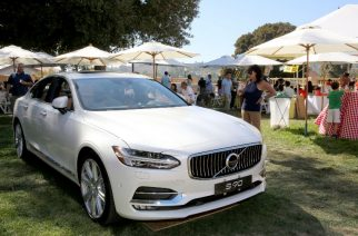 LOS ANGELES, CA - SEPTEMBER 10: A view of guests checking out the Volvo sponsor cars during the 7th annual L.A. Loves Alex's Lemonade held at UCLA on September 10, 2016 in Los Angeles, California.   Rachel Murray/Getty Images for Alex's Lemonade/AFP
