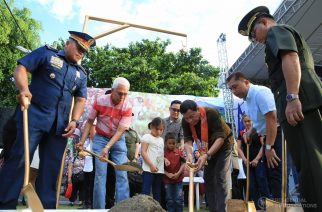 President Duterte leads groundbreaking of AFP-PNP new housing design and modalities in Davao City