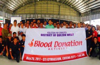 Iglesia Ni Cristo Blood Donation-- Eagle News