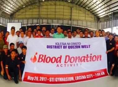 Iglesia Ni Cristo holds blood donation activity in Lucena, Quezon