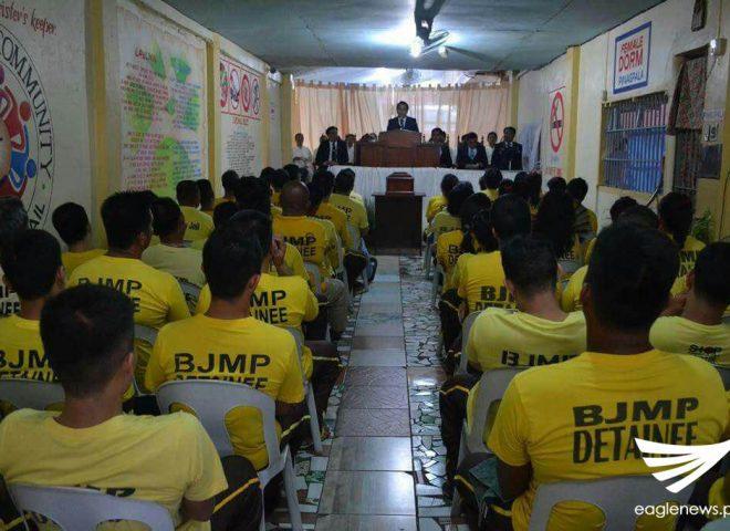 Iglesia Ni Cristo nagsagawa ng unang pagsamba sa Laoag City Jail