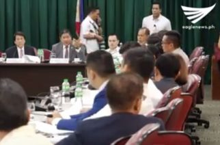The House committee on Justice starts deliberations on the impeachment complaint filed by Magdalo Rep. Gary Alejano against President Rodrigo Duterte.  (Eagle News Service)
