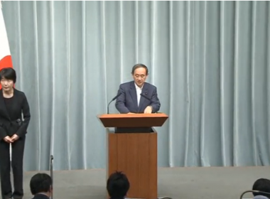 Japanese government said on Monday (May 22) that it's determined to impose its own sanctions to curb North Korea's nuclear and missile ambitions, a day after Pyongyang conducted its second missile test in a week.(photo grabbed from Reuters video)