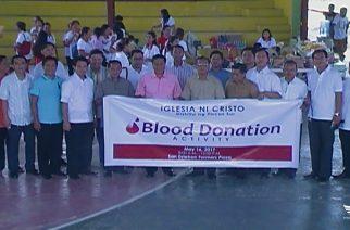 Blood donation, isinagawa ng mga miyembro ng Iglesia ni Cristo sa Ilocos Sur