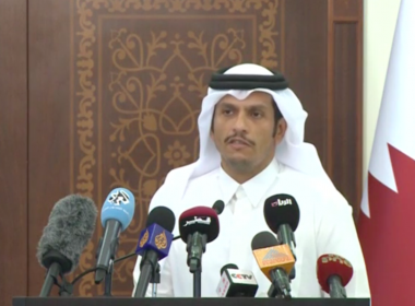Qatar has launched an investigation into a cyberattack against its official state news agency, an official said on Thursday after the news agency was hacked.  Photo grabbed from Reuters video file.
