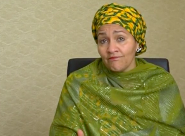 The United Nations called on the international community to solidify its actions to better cope with disaster relief amidst global pressures from climate change, Amina Mohammed, deputy secretary-general of the United Nations, told media in Cancun on Thursday (May 25). Photo grabbed from Reuters video file.