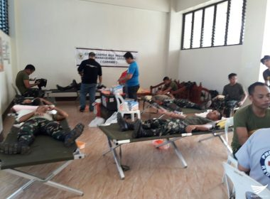 Ormoc City Blood Council, nagsagawa ng blood letting activity