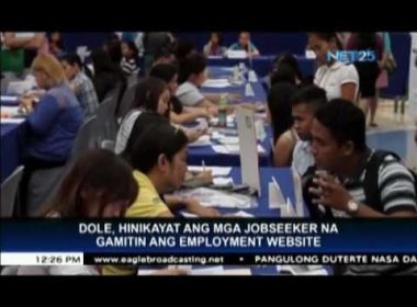 DOLE asks job seekers to use gov't employment website