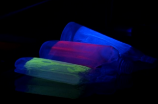 British-based scientists behind a new technique that adds luminescent markers to plastic packaging labels say it will lead to marked improvements in recycling rates, if applied across the industry.(photo grabbed from Reuters video)