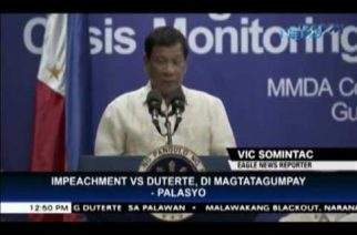 Impeachment complaint against President Duterte will not suceed – Malacañang