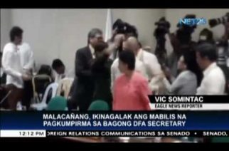 Malacañang welcomes confirmation of Senator Cayetano as Foreign Affairs chief