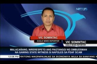 Malacañang respects Ombudsman's opinion on Napoles turning state witness